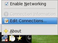 click edit connection
