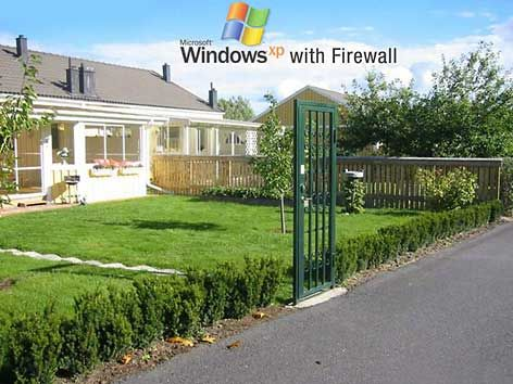 Miicrosoft Windows XP with Firewall