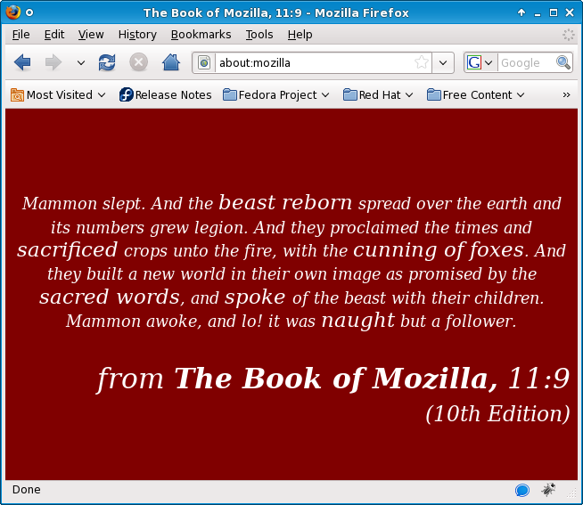 about:mozilla